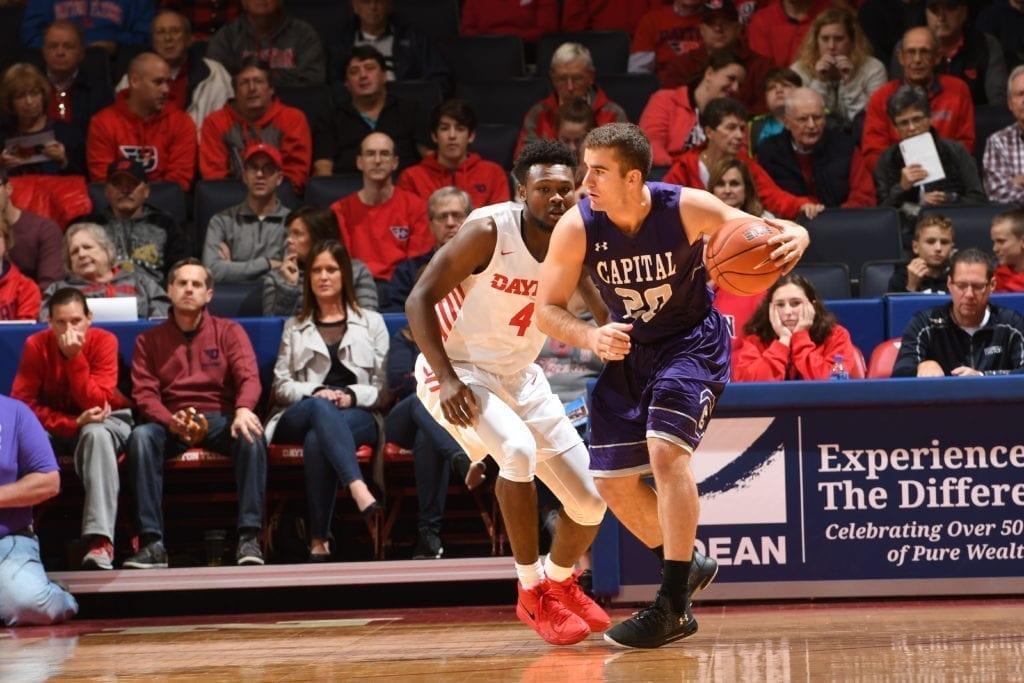 Joey Weingartner Capital University Basketball