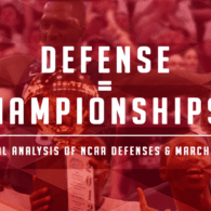 How Important is Defense in a March Madness Run?