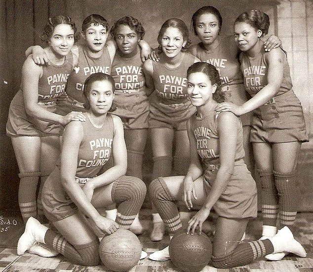 Payne's 1935 All-Female Basketball Team