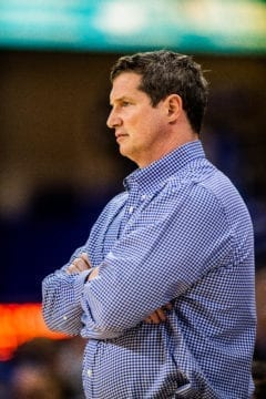 Karl Smesko Florida Gulf Coast FGCU women's basketball head coach credit Brady Young