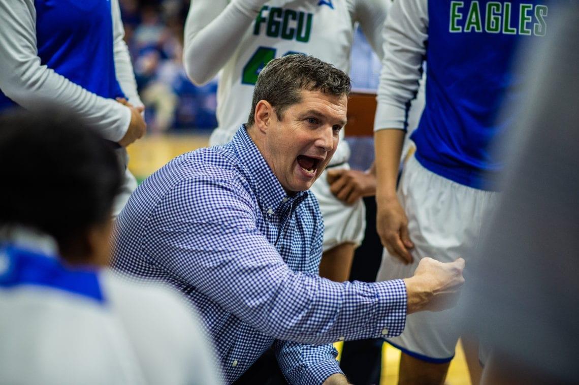 Karl Smesko Florida Gulf Coast FGCU women's basketball head coach credit Brady Young