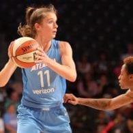 Blake Dietrick Atlanta Dream WNBA photo Brian Savage