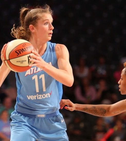 Blake Dietrick Atlanta Dream WNBA photo Brian Savage