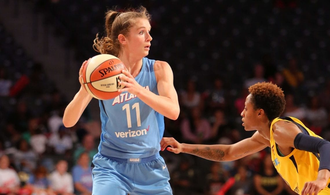 Blake Dietrick Willed Her Way to WNBA, From Princeton to Abroad