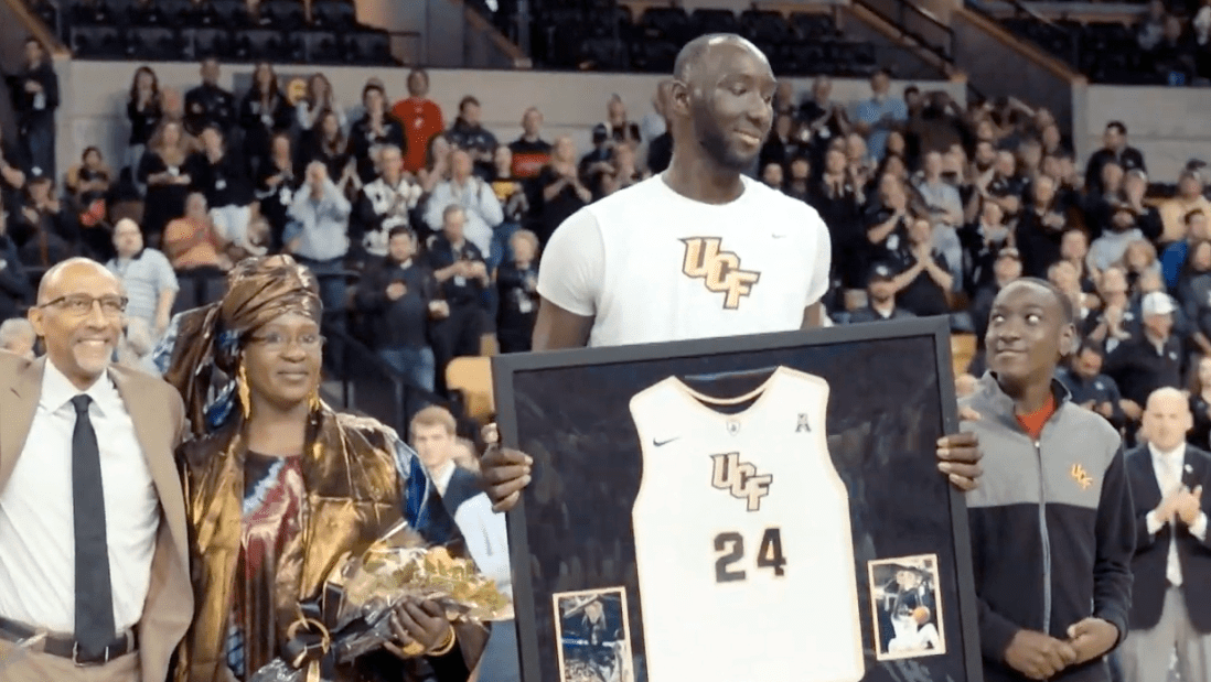 Tacko Fall Adds a Weird Twist to College Basketball