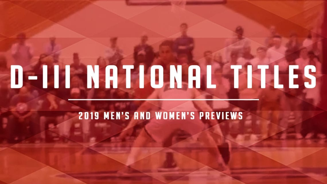 Time to Care about Division-III National Championships