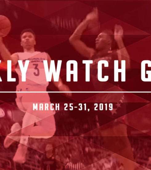 Weekly Watch Guide: March 25-31