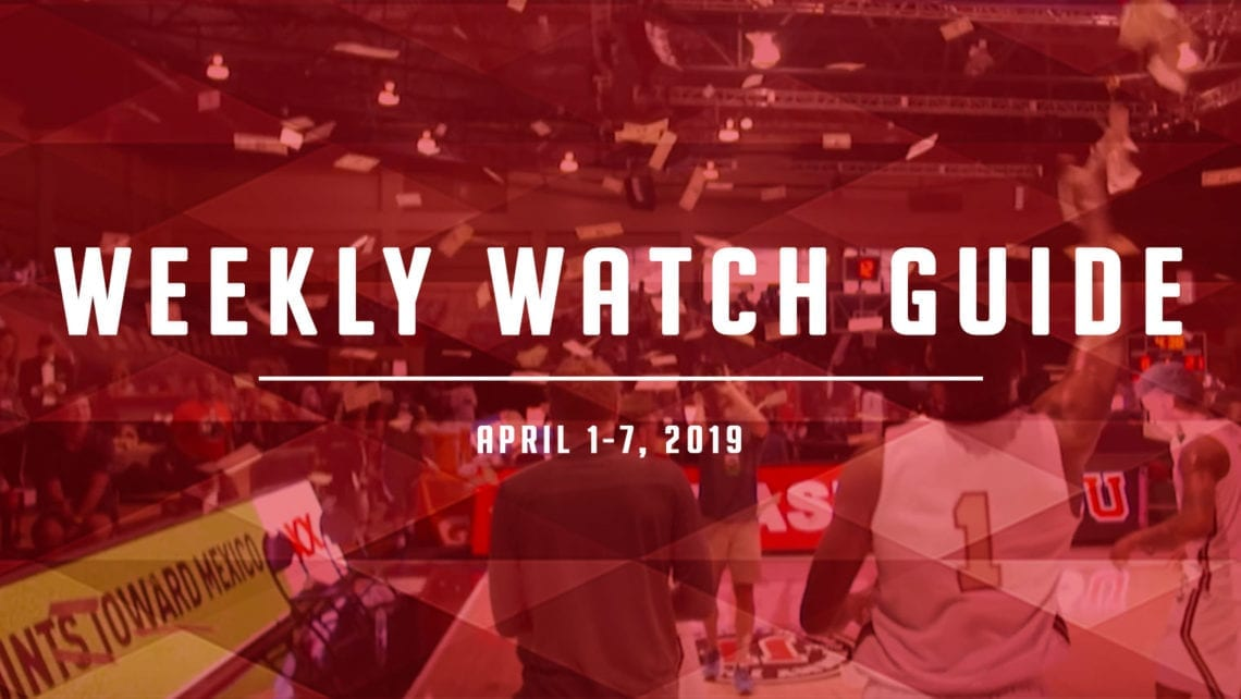 Weekly Watch Guide: April 1-7