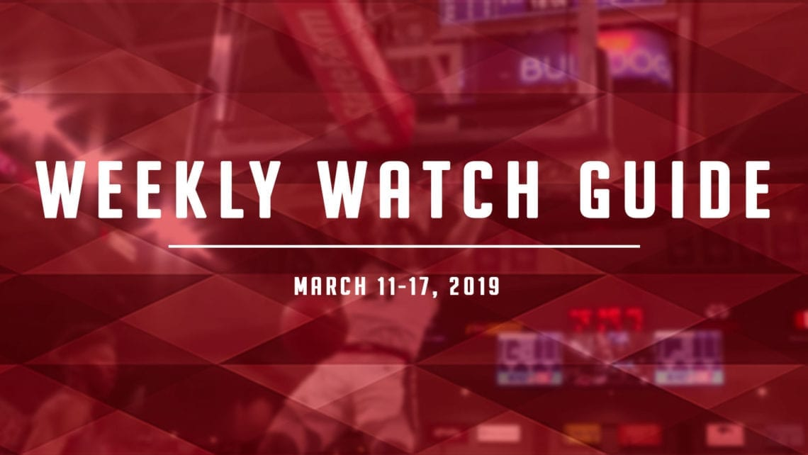 Weekly Watch Guide: March 11-17