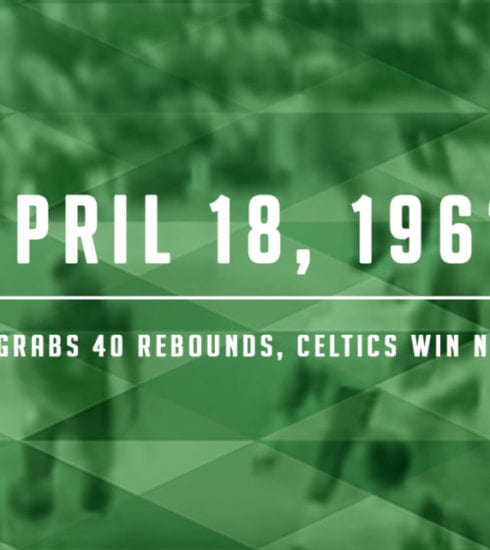 Bill Russell Grabs 40 Boards to Win Finals Over Lakers April 18, 1962