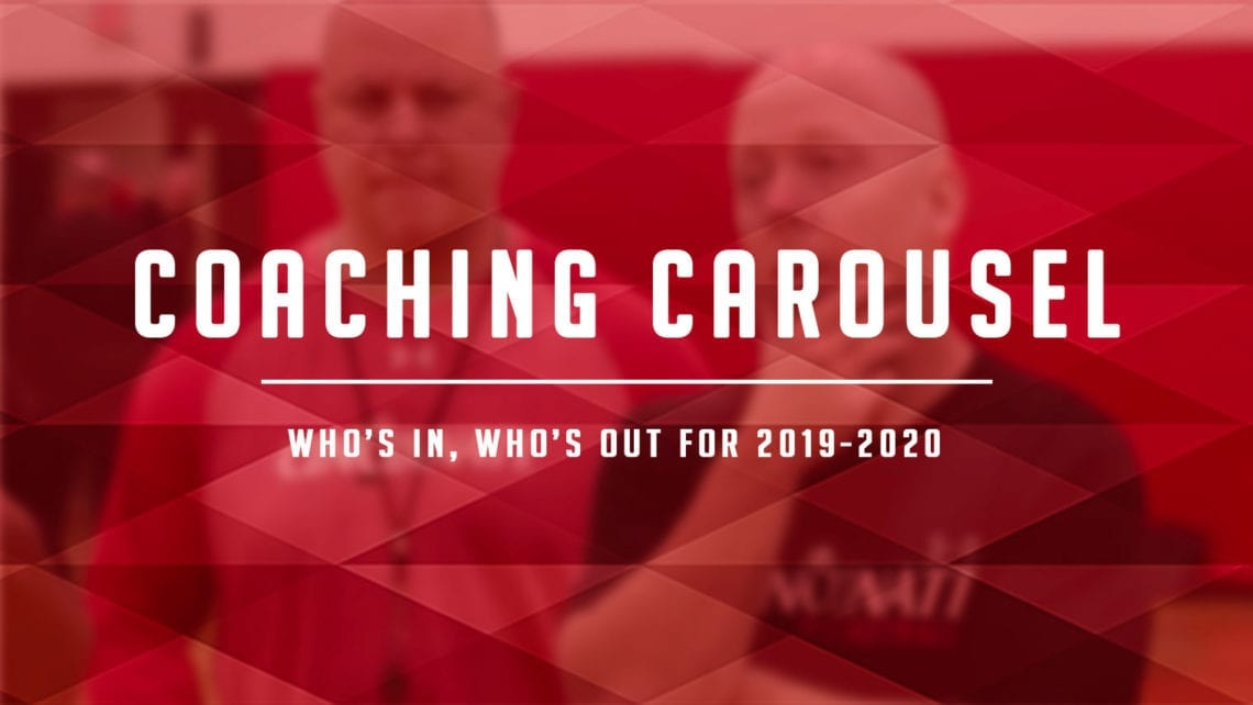 Coaching Carousel: 2019 Men's Division I