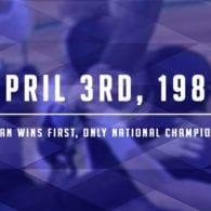 Michigan Finally Got the Job Done 1989 national champions