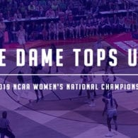 Notre Dame Top UConn, Can Repeat as Champs