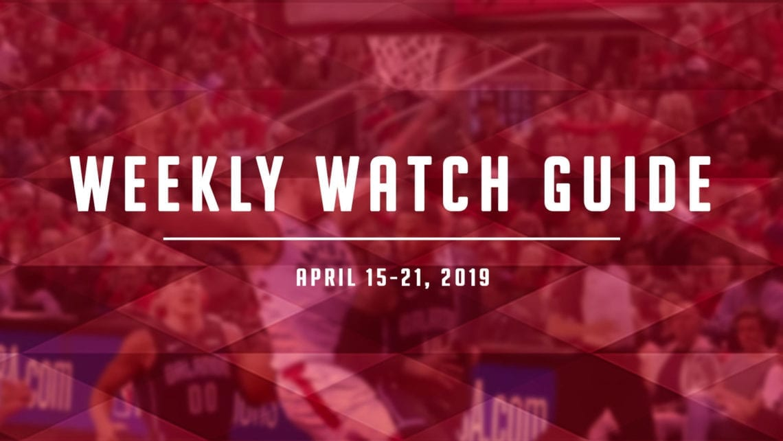 Weekly Watch Guide: April 15-21
