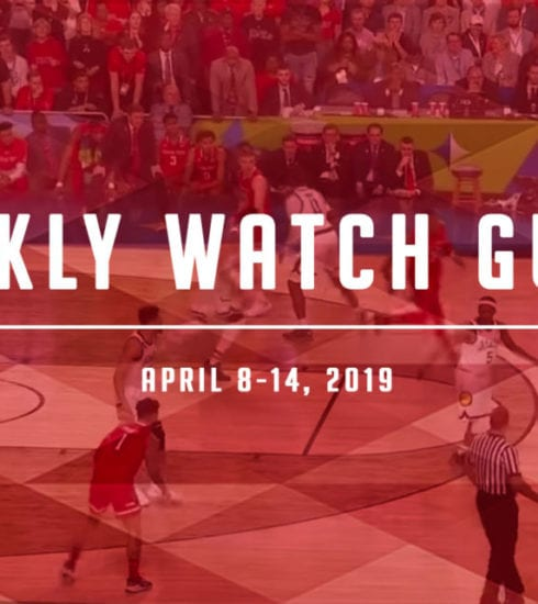 Weekly Watch Guide: April 8-14