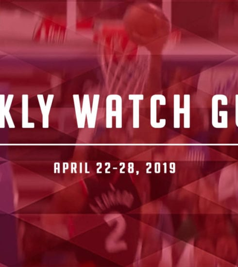 Weekly Watch Guide: April 22-28
