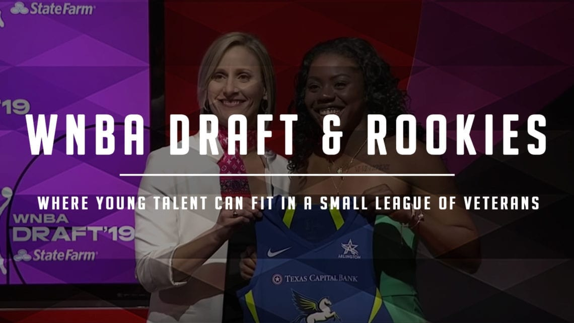 WNBA Rookie Value: Comparing Last Two Draft Classes by Team