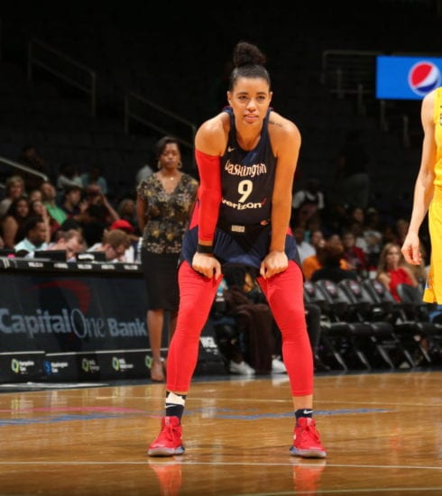 Washington Mystics WNBA Photo credit to Mystics/Ned Dishman/NBA