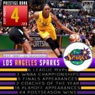 Los Angeles Sparks - WNBA Prestige Rank 2019