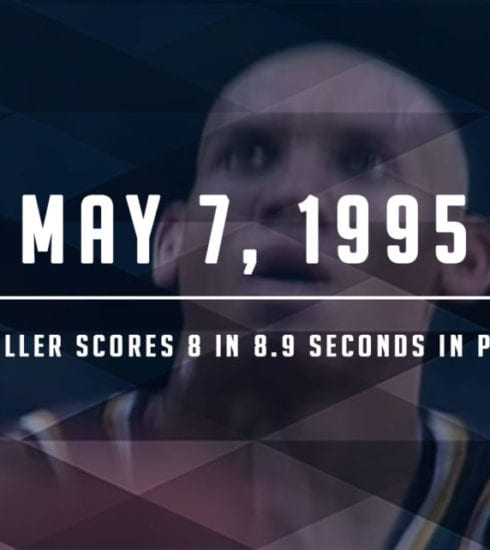 Reggie Miller Shocks the Big Apple
