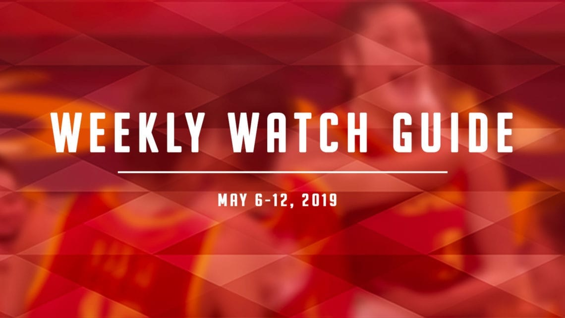 Weekly Watch Guide: May 6-12