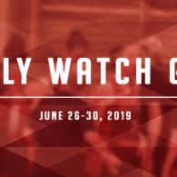 Weekly Watch Guide: June 24 - 30