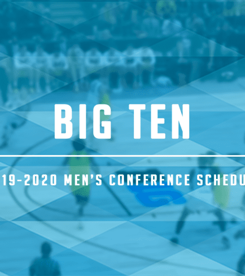 Big Ten Men's 2019-2020 Schedule Released