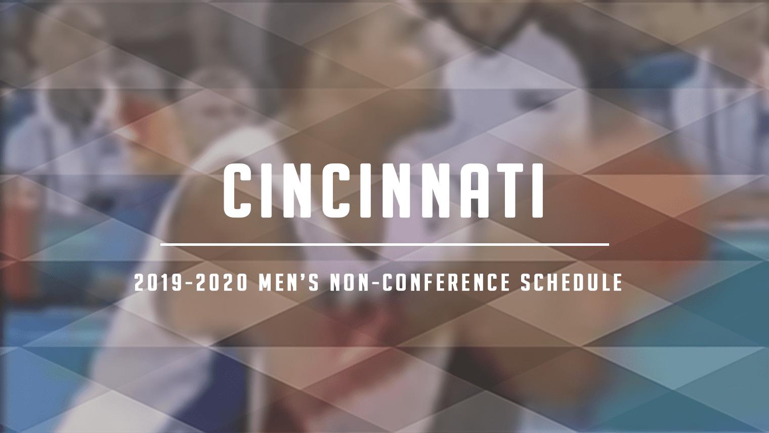 Cincinnati Non-Conference Schedule Review