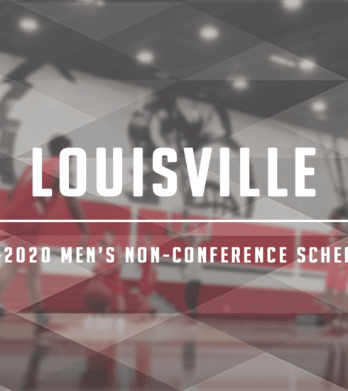 Louisville men's basketball released its non-conference schedule last week, and it has a handful of marquee matchups, headlined by the Kentucky game.