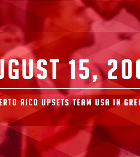 Puerto Rico Upsets USA in Athens