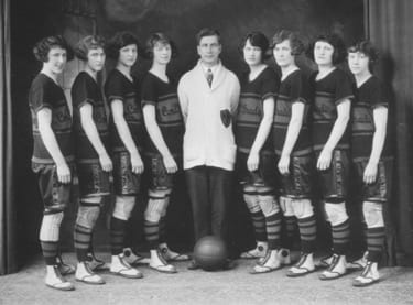 "The Edmonton Grads were a women's basketball team in Canada that James Naismith once called, ""the finest basketball team that ever stepped out on a floor."""