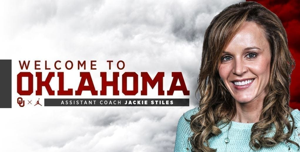 Positivity from Jackie Stiles amid her cancer diagnosis has been an inspiration for the rest of the Oklahoma women's basketball coaching staff.