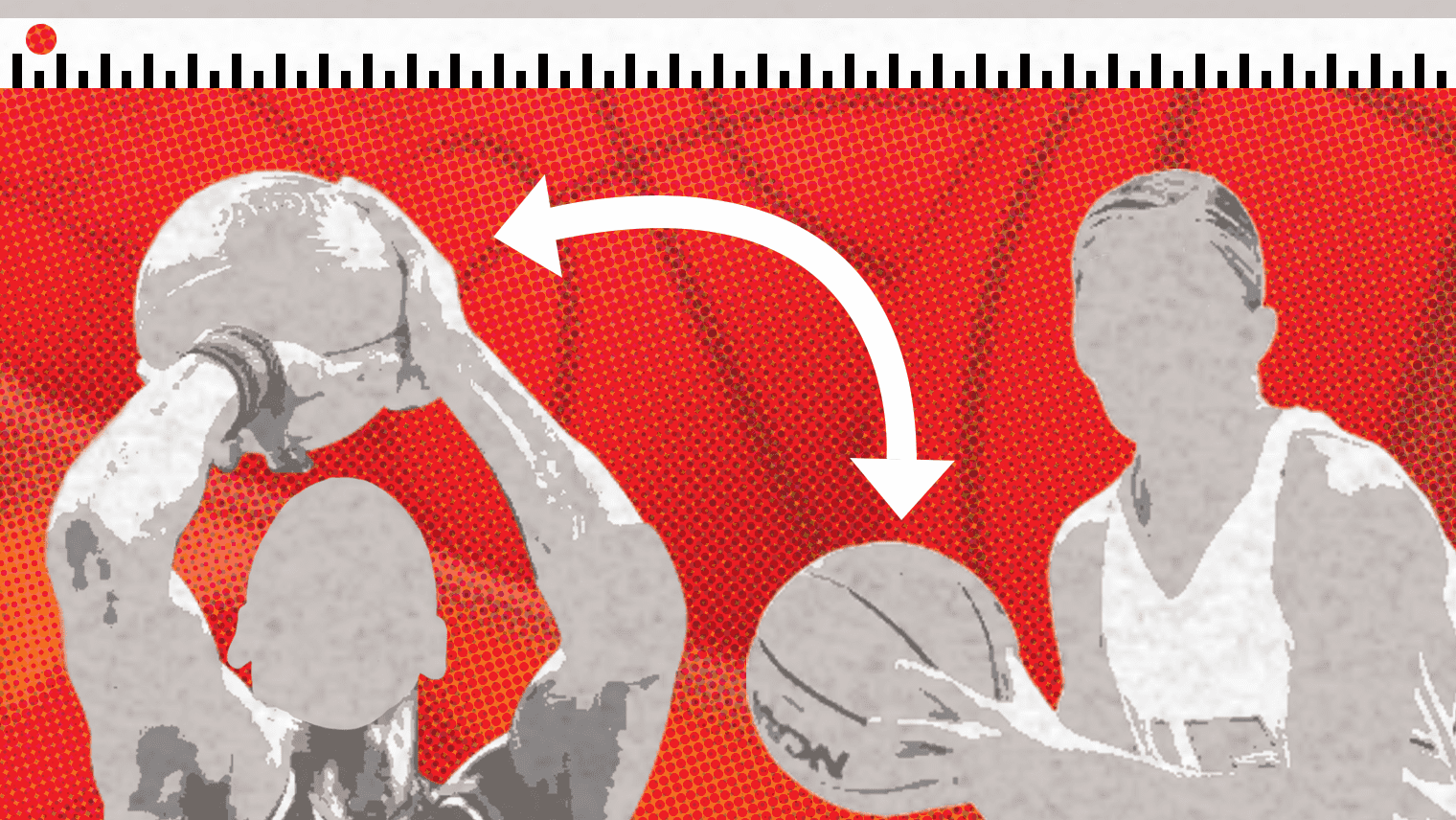It's important to know your basketball size and use the proper ball for development, and depending on your age and gender, you'll need something different.