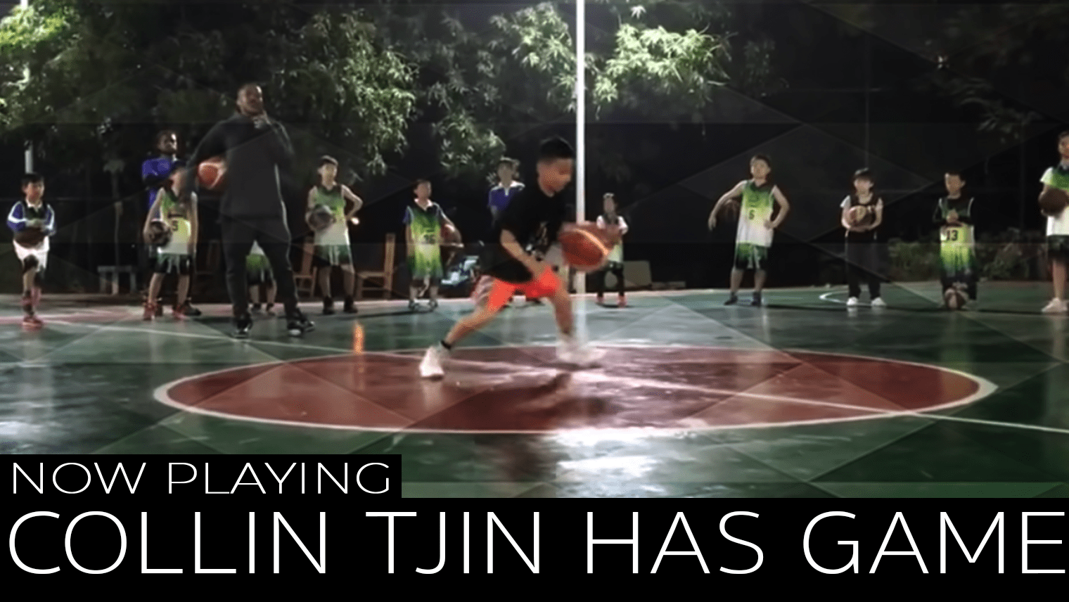 Collin Tjin is an 11-year-old hooper from California whose handles will leave you shocked, not to mention his work ethic and passion.
