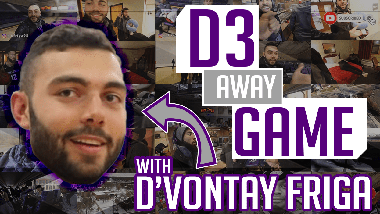Video: D'Vontay Friga Outlines D3 Away Experience