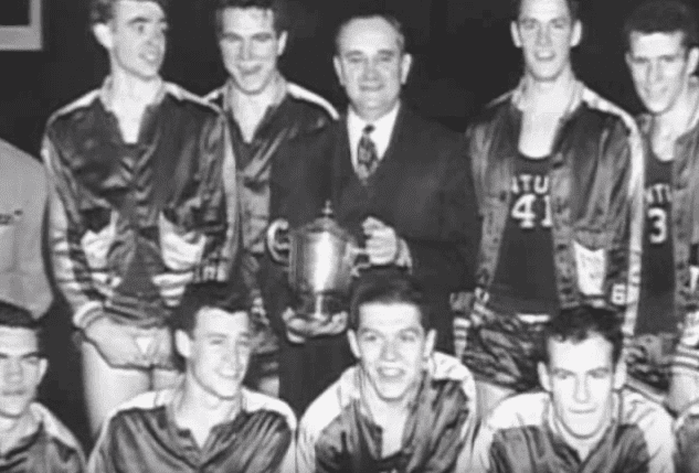 On this day 65 years ago, Kentucky lost its first home game in 12 years after winning 129 in a row, a record that stands as the longest in NCAA history.