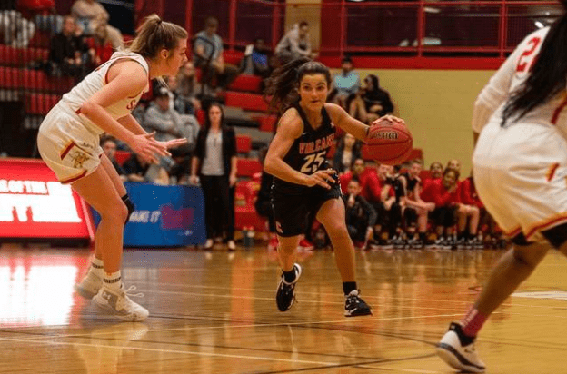 California University (Pa.) guard Monica Burns came home for her final year of college eligibility, and she is putting up some serious numbers.