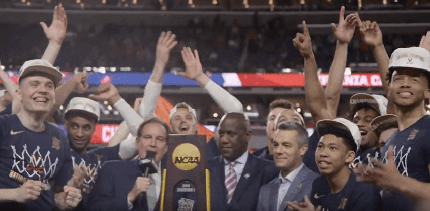 In 2019, Virginia completed one of the greatest redemption arcs in sports history by winning the national championship one year after losing to a 16 seed.