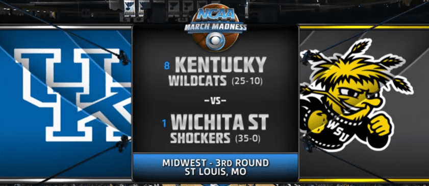 Kentucky vs Wichita State 2014 NCAA Tournament. Full game video from the classic second-round matchup of the undefeated Shockers and No. 8 seed Wildcats.