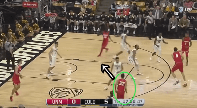 Jordan Sperber breaks down the continuity ball screen, the most run play in college basketball, on his YouTube channel, hoopvision68.