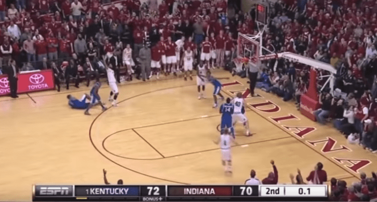 In 2011, Christian Watford hit a buzzer-beating three to beat Kentucky in the last regular season meeting between the Hoosiers and Wildcats.