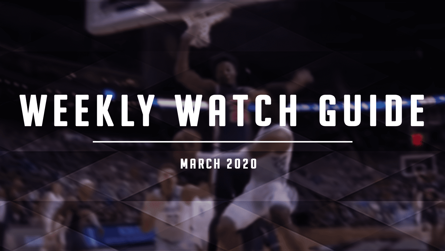 The NBA regular season is in the final stretch, the G League is moving along, and oh yeah, March Madness is here, too. Welcome to basketball in March!
