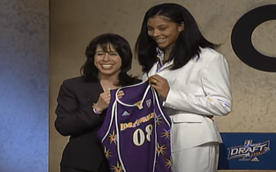 The Los Angeles Sparks selected Candace Parker with the No. 1 overall pick in the 2008 WNBA Draft. Let's look back at the reactions at the time.