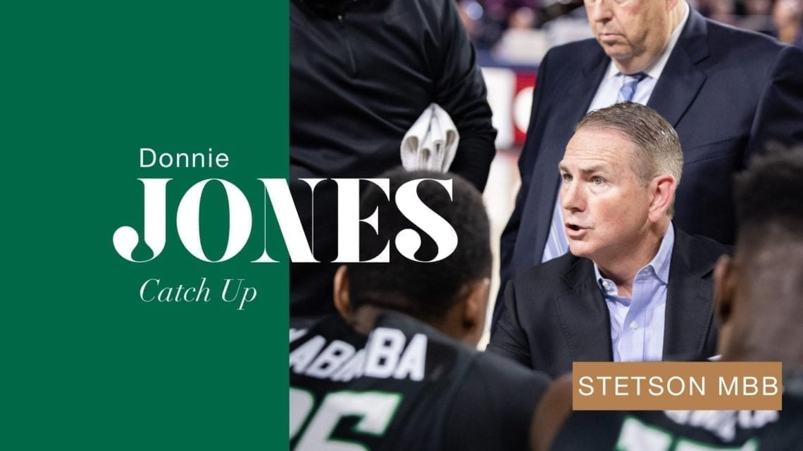 Catch Up: Donnie Jones and Stetson Week