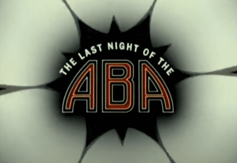 The Last Night of the ABA looks into the final game ever played in the ABA and helps give some background context to the iconic league.