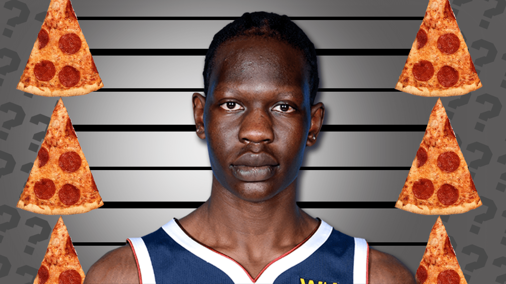 Bol Bol: How Many Pizza Slices Tall is He?