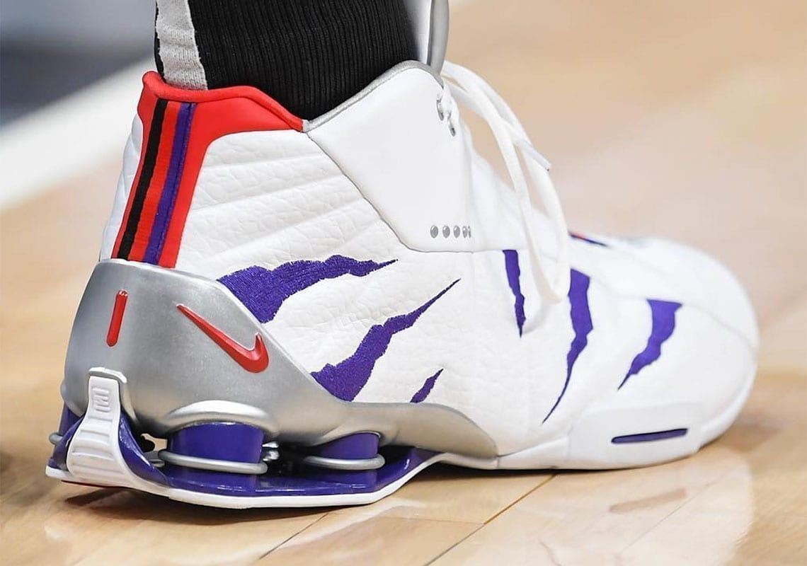 Vince Carter Career by the Shoe