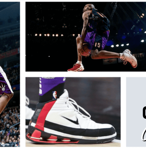Vince Carter retired after a 22-year professional career last month. Here are some of his great moments and the shoes he was wearing while dazzling America.