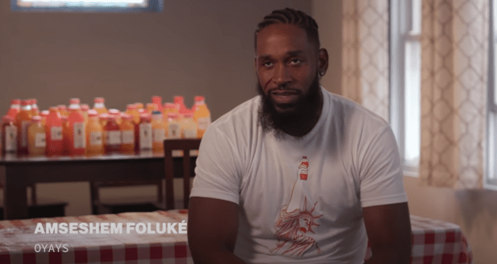 Amsesham Foluke is a former college and professional basketball player and current coach. His side hustle of selling drinks was shown on VICE this week.