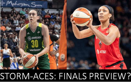 The Seattle Storm and Las Vegas Aces headline the biggest remaining games in the W going into the final weekend of the regular season.